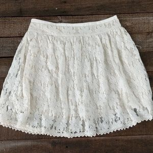 American Eagle lace skater skirt